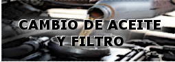 Cambio de filtro y aceite
