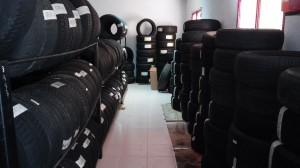 Neumáticos nuevo y cosaión, montellano, sevilla, cádiz