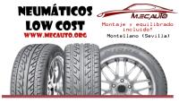 Neumaticos nuevos Low Cost Montellano (Sevilla)